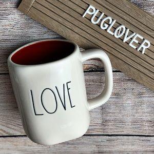 """🆕 RAE DUNN Valentine ❤️ mug """"LOVE"""""""